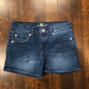 Girl's-7 for all Mankind shorts